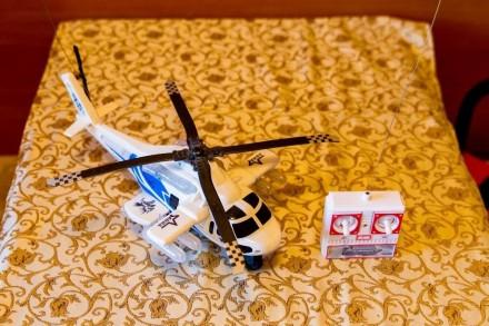 Игрушка-вертолёт детский радиоуправляемый. Краматорск. фото 1