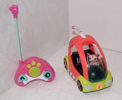 Радиоуправляемый автомобиль со зверушкой Hasbro Littlest Pet Shop. Днепр. фото 1