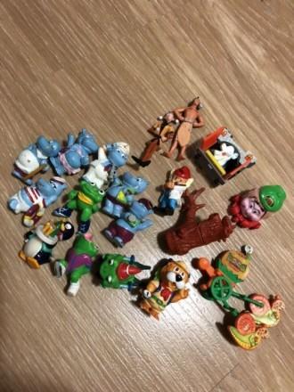 Набор игрушек киндер. Мелитополь. фото 1