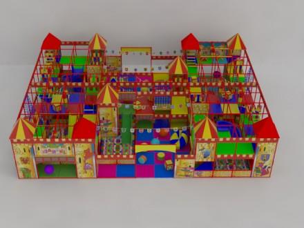 Детские игровые лабиринты для детей.. Днепр. фото 1