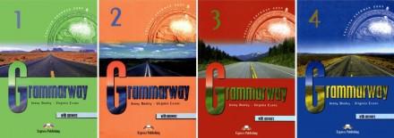 Книга по английскому Grammarway 1-4 уровень. Киево-Святошинский. фото 1