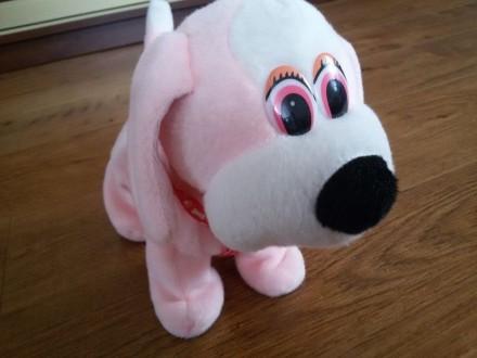 Интерактивная собака щенок - ходит и виляет хвостом. Винница. фото 1