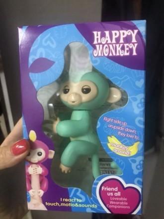 Интерактивные обезьянки happy monkey. Днепр. фото 1