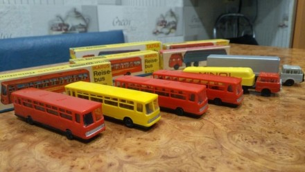 Железная дорога TT Автобус Икарус. Днепр. фото 1
