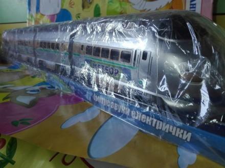 Игрушечный поезд «метеор» железная дорога фото в живую. Днепр. фото 1