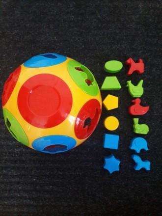 Сортер тварини і фігури м'яч. Ивано-Франковск. фото 1