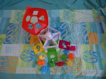 Сортер «Домик с животными» Chicco, развивающая игрушка от 1 года. Харьков. фото 1