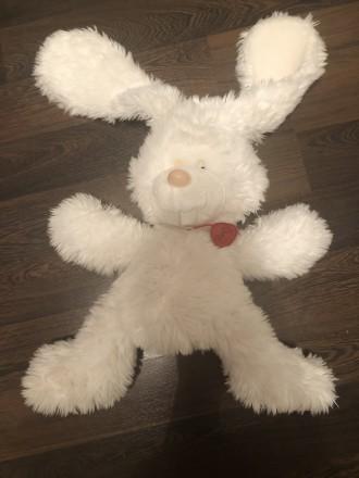 Заяц мягеая игрушка. Винница. фото 1