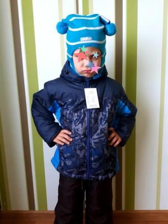 теплая деми куртка ESTO Малыш р. 92-98 двойне, тройни. Краматорск. фото 1