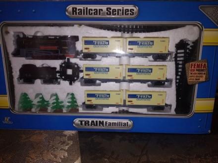 Железная дорога Fenfa Railcar Series Train Familial. Луганск. фото 1