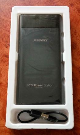 Внешний аккумулятор Power bank Pisen 20000 mAh ORIGINAL 100%. Модель TS-D199 с ж. Запорожье, Запорожская область. фото 4