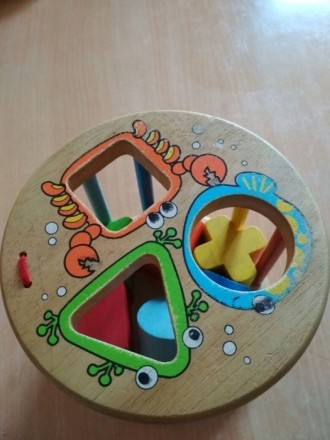 Деревянная игрушка, сортер,фигурки. Сарны. фото 1