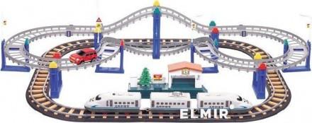 Железная дорога LiXin 2241, игрушка, конструктор. Днепр. фото 1
