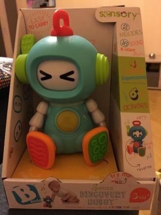 Развивающая игрушка Sensory Робот-весельчак. Киев. фото 1