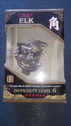 Литая головоломка Elk Cast Puzzle (5425004737953) hanayama. Киев. фото 1