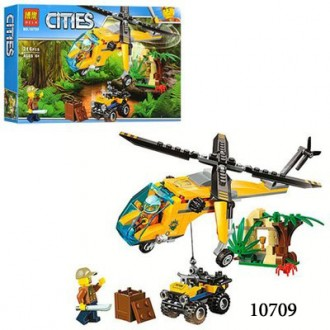 Бела Сити конструктор 10709,10710,10711 Bela Cities Джунгли аналог Лего. Хмельницкий. фото 1