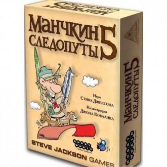 Настольная игра Hobby World Манчкин 5 Следопуты. Полтава. фото 1