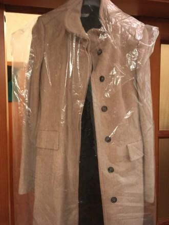 Пальто новое Zara. Шерсть размер М. Киев. фото 1