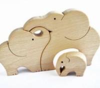 Еко-Дерев'яні іграшки /пазли. Свалява. фото 1