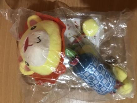 Мягкая игрушка-колокольчик Happy monkey 0+. Ирпень. фото 1