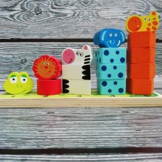 Деревянный сортер деревянные игрушки. Павлоград. фото 1
