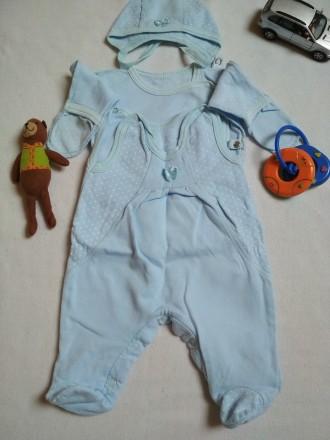 Розпашонки та повзунки для немовлятка 56-62 розмір. Ивано-Франковск. фото 1