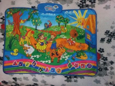 Музыкальный коврик. Южноукраинск. фото 1