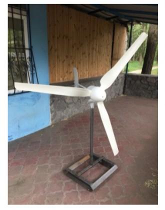 Ветряк ( ветрогенератор )WINDS ENERGY WEG-750. Киев. фото 1