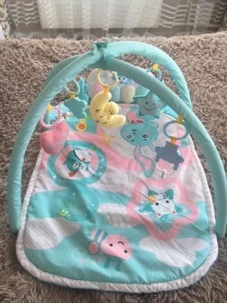 Детский игровой музыкальный коврик. Обухов. фото 1