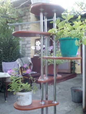 Полка-стойка для комнатных цветов. Кременчуг. фото 1