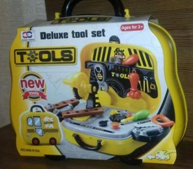 Набор инструментов плотника, автобус, новогодний подарок мальчику. Сумы. фото 1