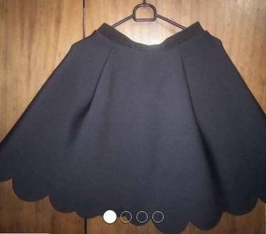 Модная новая юбка h&m неопрен. Переяслав-Хмельницкий. фото 1