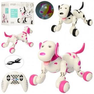Радиоуправляемая робот-собака HappyCow Smart Dog. Сумы. фото 1
