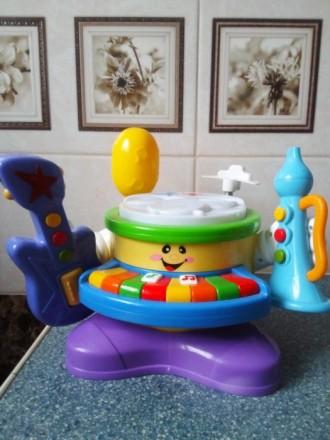 Музыкальный барабан. Марганец. фото 1