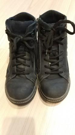 Продам зимние ботинки из натуральной кожи (на мальчика), размер - 34. Сумы. фото 1