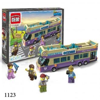 Брик Сити 1122,1123 конструктор Brick Enlighten City Автобусная остановка. Хмельницкий. фото 1