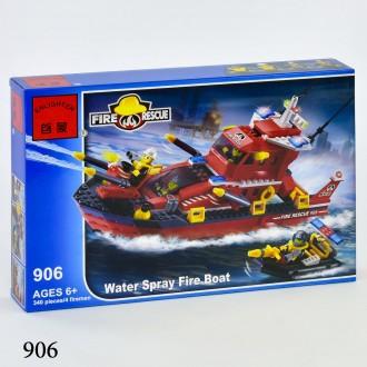 Брик 905,906Пожарная тревога конструктор Brick Enlighten Fire Rescue. Хмельницкий. фото 1
