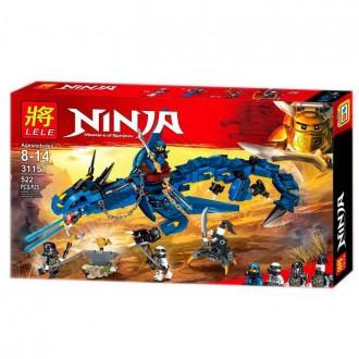 Леле Ниндзя 31151 конструктор Весник бури Lele Ninja аналог Лего. Хмельницкий. фото 1
