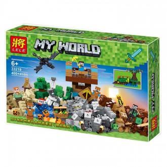 Леле Майкрофт 33219 конструктор Замок Священной войны Lele Minecraft Лего. Хмельницкий. фото 1