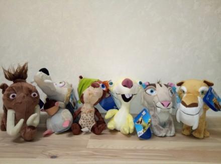 Игрушки серии ледниковый период. Киев. фото 1