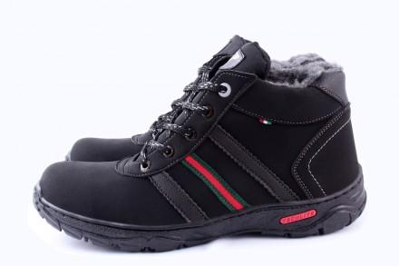 Мужские зимние ботинки- 40,43 размер. Марьинка. фото 1