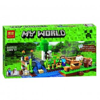 Бела Майнкрафт 10175 Ферма конструктор Bela Minecraft My World. Хмельницкий. фото 1