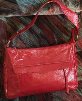 1b4bf9a2aa26 ᐈ Красная женская сумка ᐈ Киев 100 ГРН - OBYAVA.ua™ №2333016