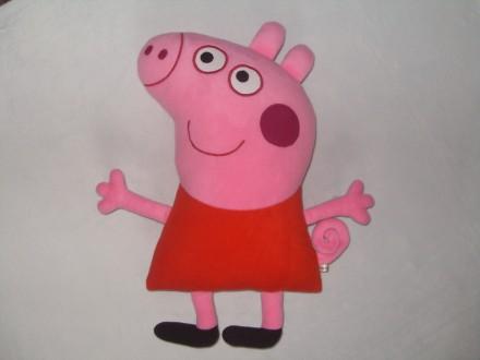 Мягкая игрушка-подушка Свинка Пеппа ручной работы.. Бердянск. фото 1