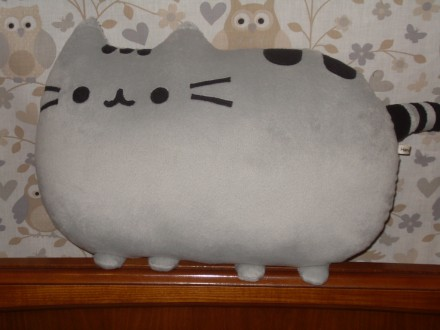 Мягкая игрушка-подушка кот Пушин.. Бердянск. фото 1