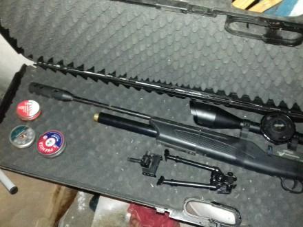Walther 1250 Dominator PCP  4,5mm Б/У и Балон высокого давления 6ти Литровый. Геническ. фото 1