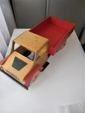 Большая деревянная машинка СССР грузовик игрушка коллекция раритет. Херсон. фото 1