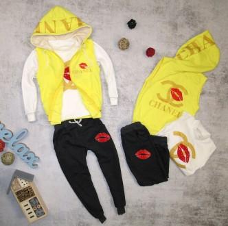 теплый стильный костюмчик для девочек модниц!. Киев. фото 1