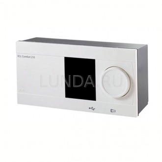 Регулятор температуры ECL Comfort 210 Danfoss с ключем А266. Запорожье. фото 1
