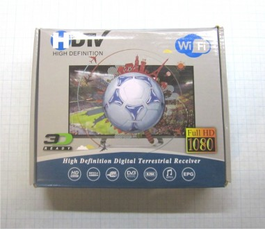 Цифровой ТВ тюнер HD DVB-T2, ресивер, FullHD1080, Wi-Fi. Харьков. фото 1
